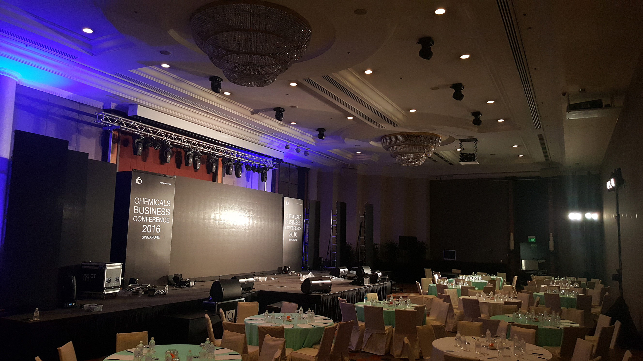 Event Led Wall and Lightings